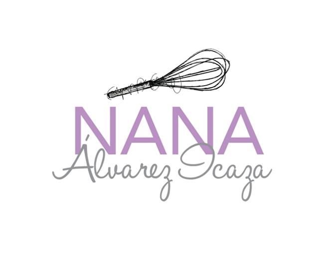 nana diseño logotipo, tarjeta de presentación