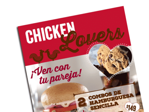Menus y Flyers KFC Chef